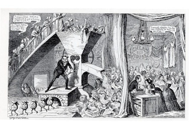 George Cruikshank, Our Own Time, 1846