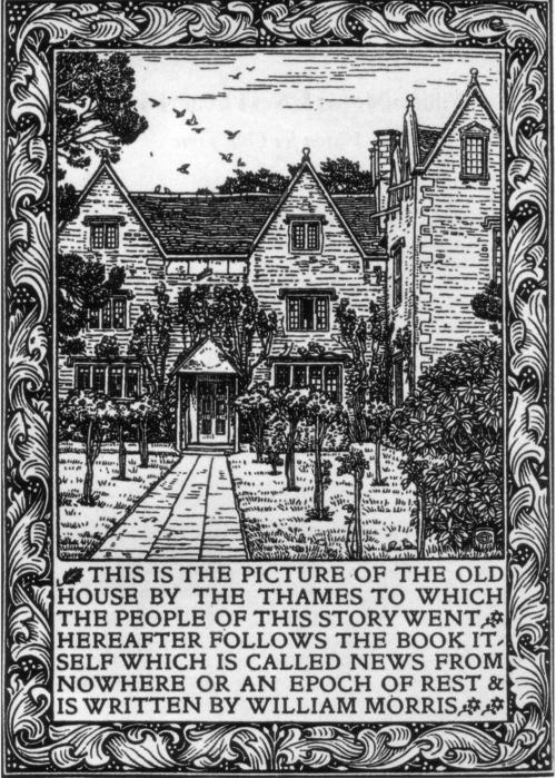 News from Nowhere, Kelmscott Manor