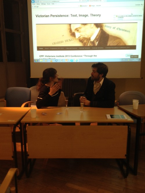 Estelle Murail and Tom Stammers talking about the emergence of the flâneur in the nineteenth century