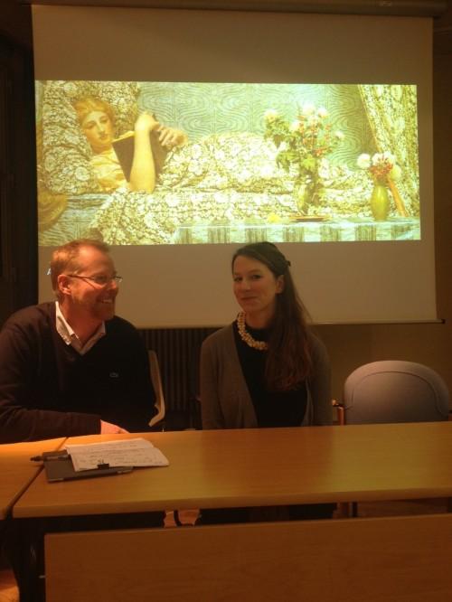 David Peters Corbett and Sarah Gould