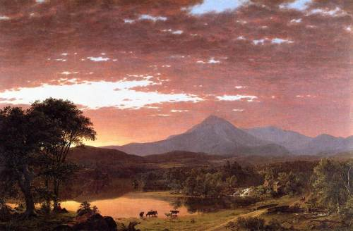 Frederic Edwin Church, Mount Ktaadn, 1853, Yale University Art Gallery