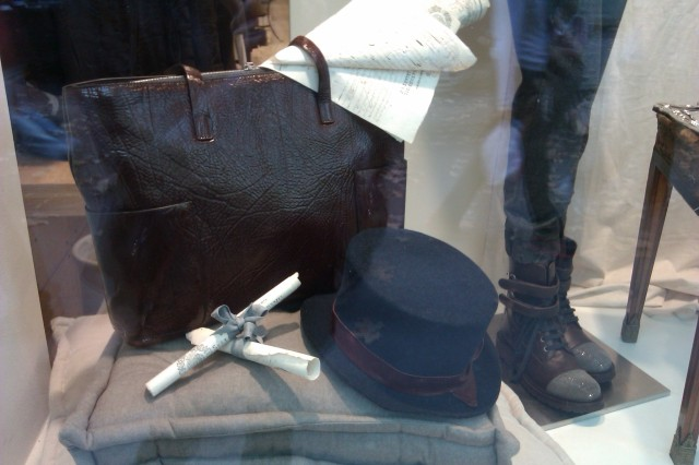 A shop window in Saint-Germain-des-Prés, 2013