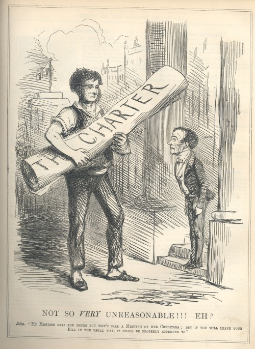 John Leech, Cartoon from Punch Magazine, 1848