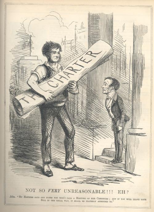 John Leech, Cartoon from Punch Magazine, 1848