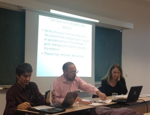 Pr. Fabrice Bensimon, Mike Sanders and  Fabienne Moine.