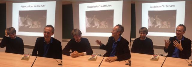 Edmund Birch and Nick White talking about Maupassant's Bel-Ami and Gissing's New Grub Street