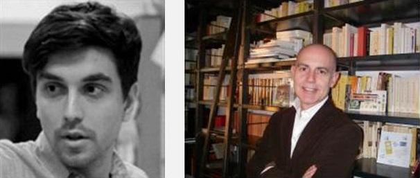 Tomek Mossakowski and Professor Frédéric Regard
