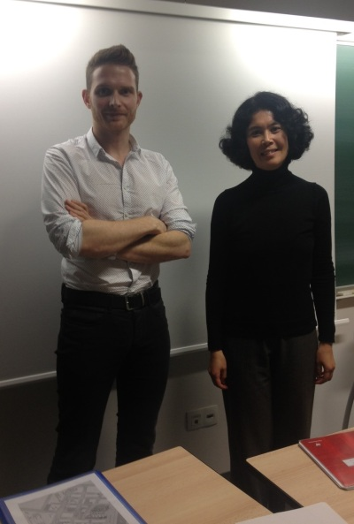 Hubert Malfray and Nathalie Vanfasse