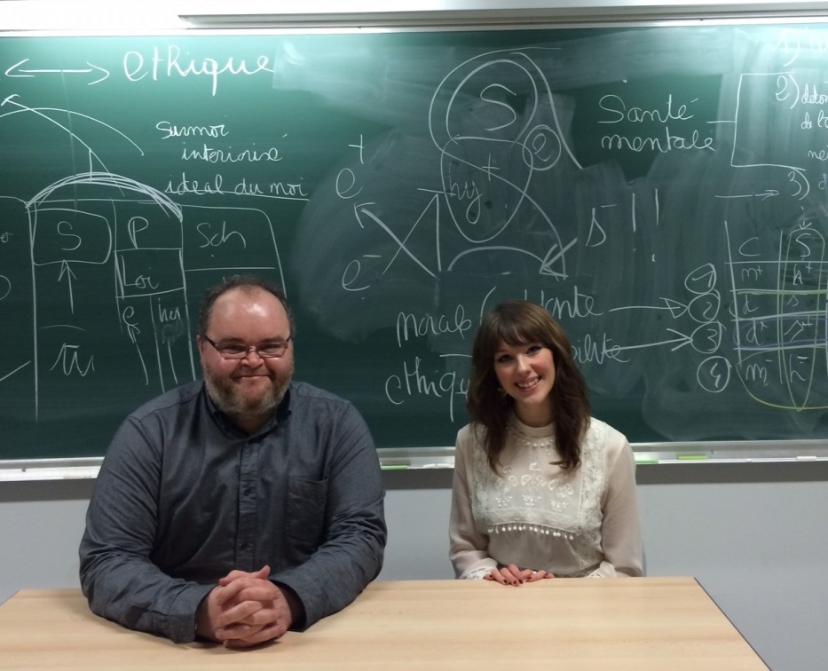 Verity Burke and Dr. Andrew Mangham