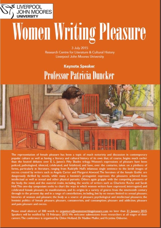 Women writing pleasure
