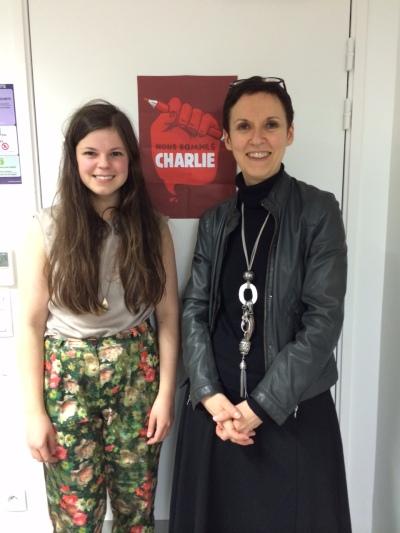 Kate Osborne (King's College London) and Professor Catherine Bernard (Université Paris Diderot)