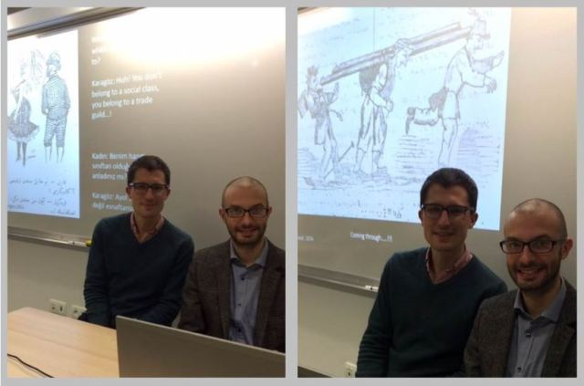 Sam Dolbee (New York University) and Dr. Michael Talbot (Université Paris 1)