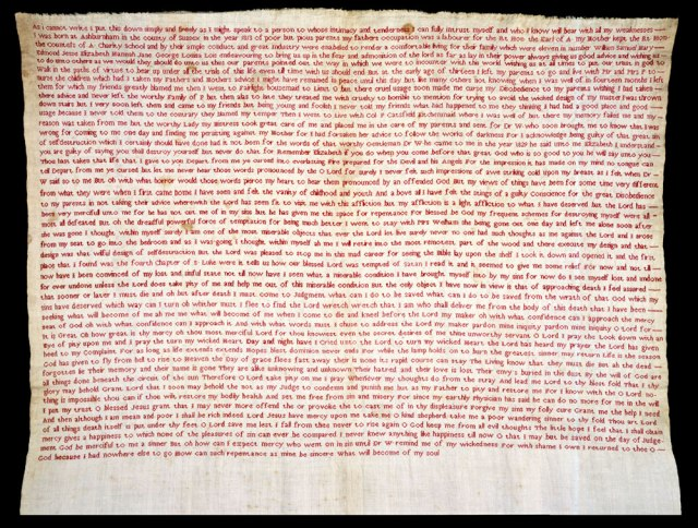 Róisín Quinn-Lautrefin gave a paper on Elizabeth Parker's sampler, which was made after 1830, and which is held at the Victoria and Albert Museum.