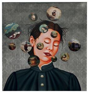 Artist: Lezley Saar, 'Edna Pontellier' in 'Madness in the Gaze' exhibition, (2012).