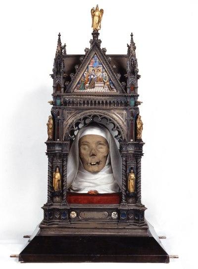 Angelo Giorgi and David Manetti, Reliquary of the Head of Saint Catherine, The Basilica of San Domenico, Siena.