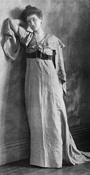 May Sinclair, White Dress