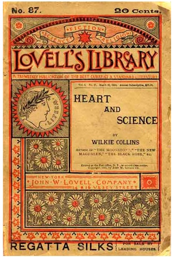 (Image courtesy of Andrew Gasson http://www.wilkie- collins.info/books_heart_and_science.htm#Plot)