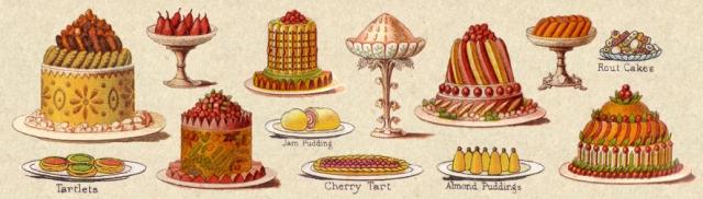 Mrs Beaton's cakes